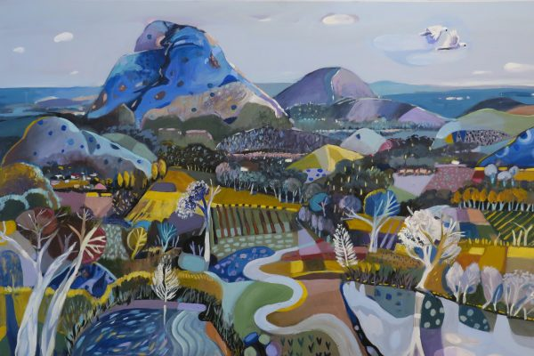 Susan Trudinger Mountain View Canberra Artists