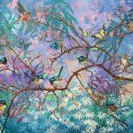 Twitterverse- Ltd Ed giclee print on canvas