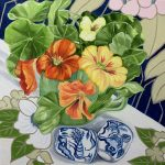 Egg Cups and the Winter Nasturtiums