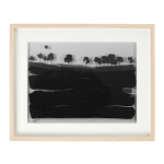 3 Dimension Black Landscape