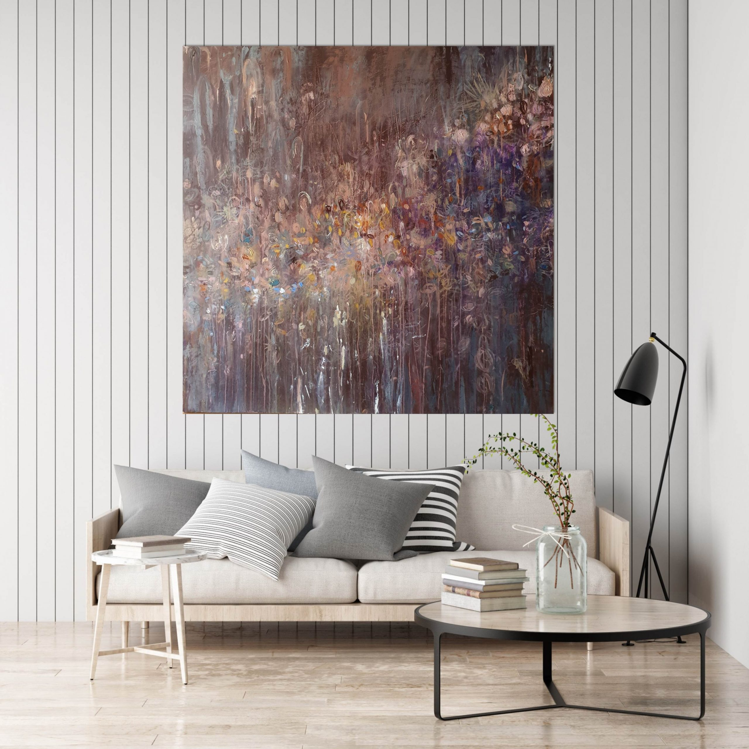 Ambrosia Blush Scandi Living Area