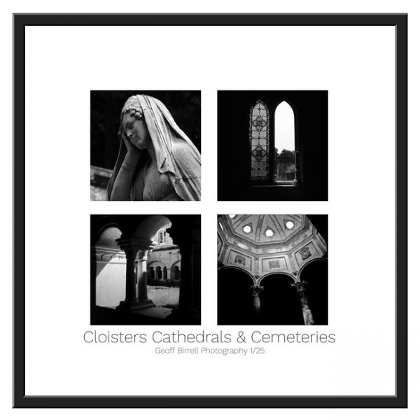 Cloisters Cathedrals & Cemeteries Framed Border
