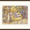 Cottage Through The Woods In Frame