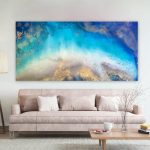 Island Sanctuary – Large Abstract Art