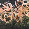 Honey Nougat 2020 Jen Shewring 122x92cm Acrylic On Canvas