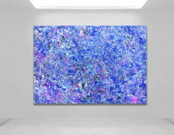 Empty Gallery With White Background