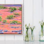 Abundance – framed oil painting