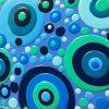 Latimer Julee Blue Bubbly Detail