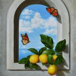 Lemons on the window