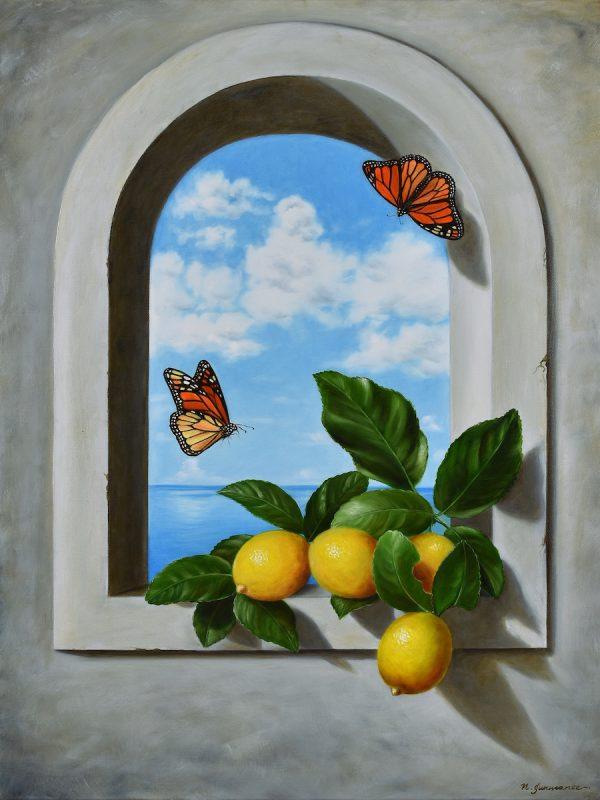 Lemons On A Window Sm