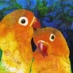 Love Birds Ltd Ed Print