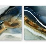 Rainbow Beach Diptych