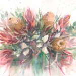 Wildflowers Bouquet of Banksia and Protea