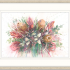 Wildflowers Framed In Oyster