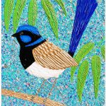 Blue Wren Looking for Love – SOLD