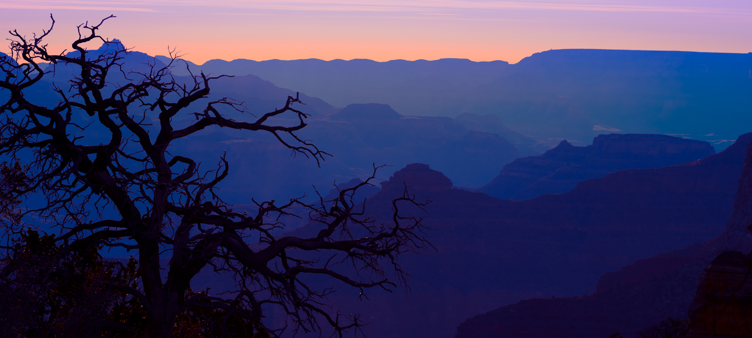 Grand Canyon Layered Mist Nikart Photography