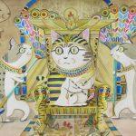 Egyptian Meow: The Throne