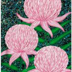 Waratah Flowers Abstract Textures – SOLD