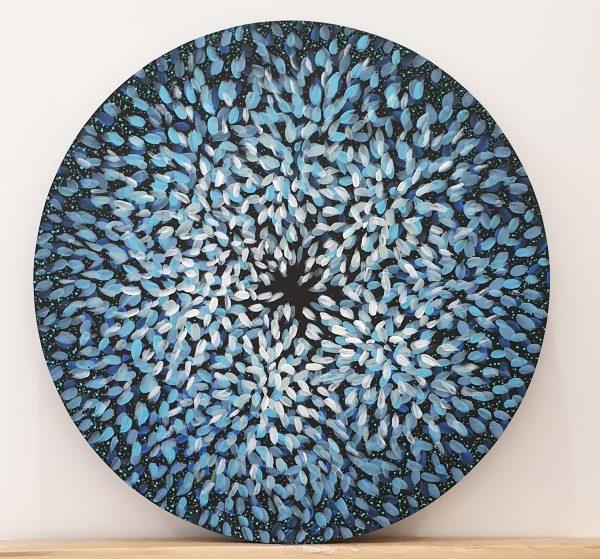 Artist Leni Kae Circle Of Protection & Healing Mandala 60x60cm