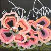 Boho Crush Jen Shewring 2020 30x30cm Acrylic On Canvas