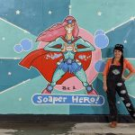'Save the World – Be a Soaper Hero' – Brisbane Street Art Festival 2020