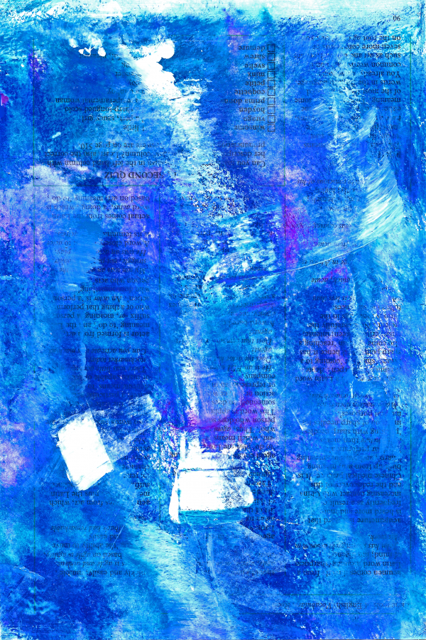 Feeling Blue 1 By Susanne Bianchi