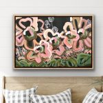 Groovy Love – Abstract Flowers