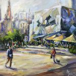 Federation Square Melbourne Ltd Ed Print