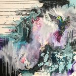 Saphire hummingbird