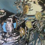 Kookaburra and Banksia