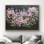 King Protea – Abstract Flowers