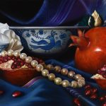 Lavish Pomegranates – Ltd Ed Print on Canvas