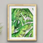 Monstera Girl Ltd Ed Print