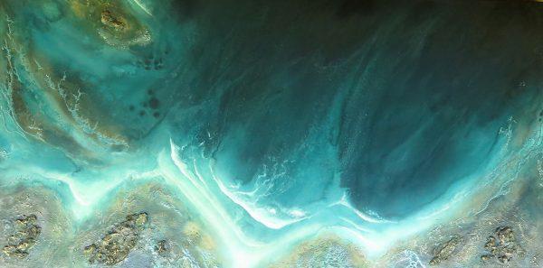 Ocean Art For Sale Low Tide Breakers By Petra Meikle De Vlas 600x297