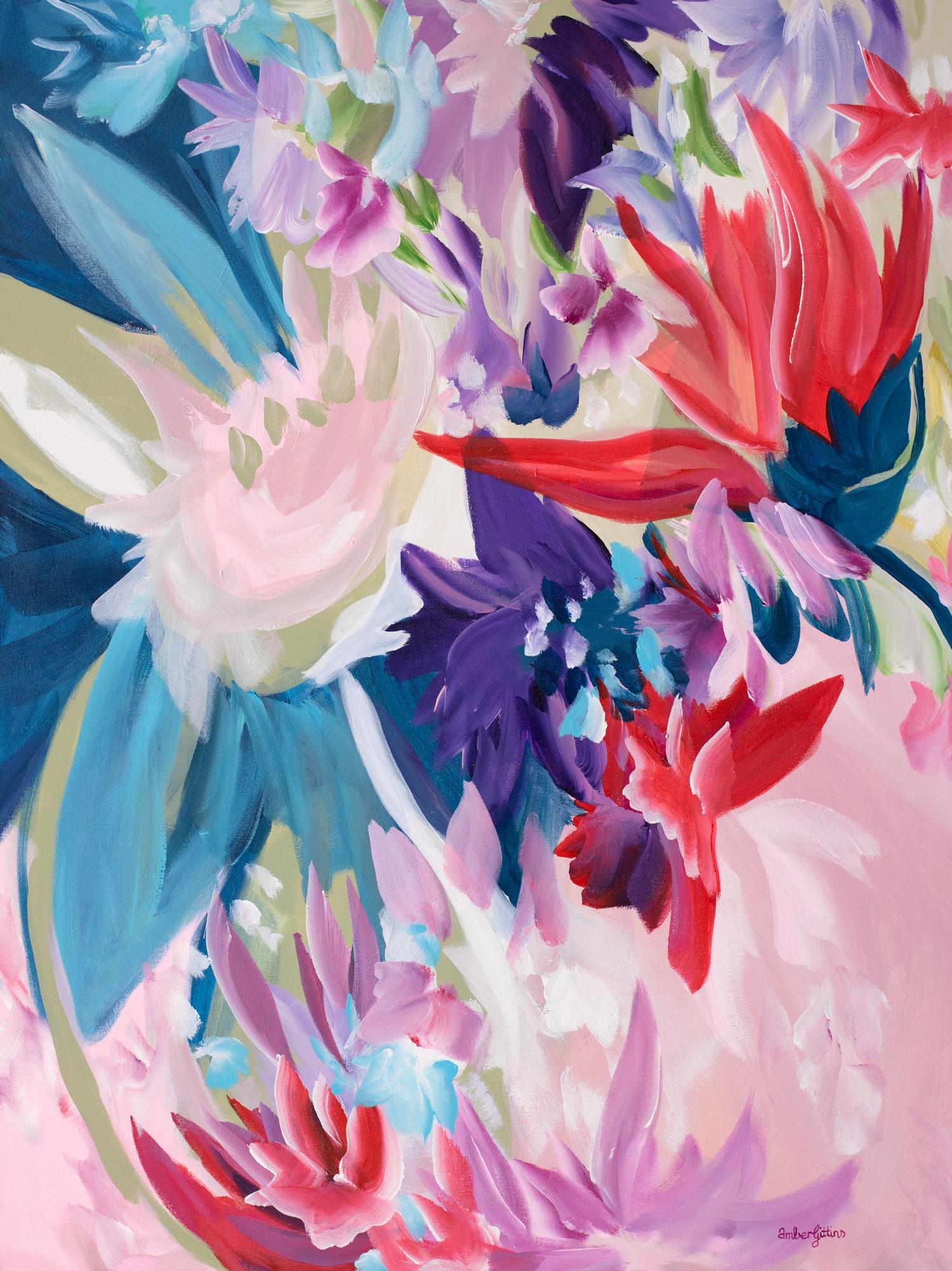 Pink Diamonds By Amber Gittins