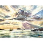 Sydney Harbour – Original watercolour painting