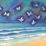 Beach Waves and Butterflies