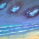 Blue Butterfly Sea