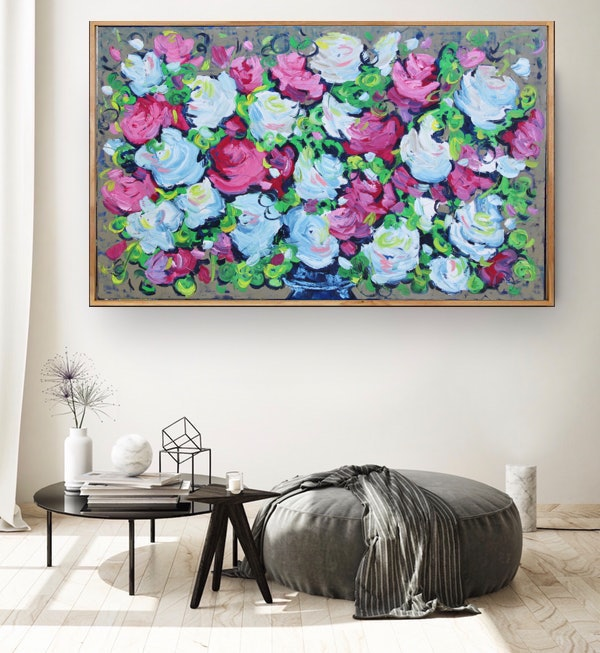 Belinda Nadwie Art Abstract Painting Bouquet One Option 2 1 Copy