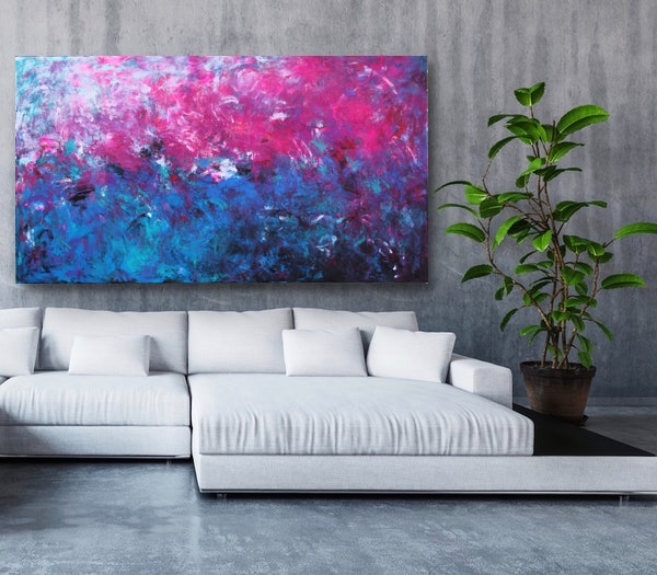 Belinda Nadwie Art Abstract Painting Truly And Madly 5