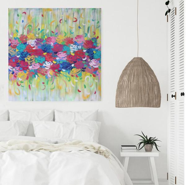 Belinda Nadwie Art Abstract Painting You Brighten My Life 4 Copy