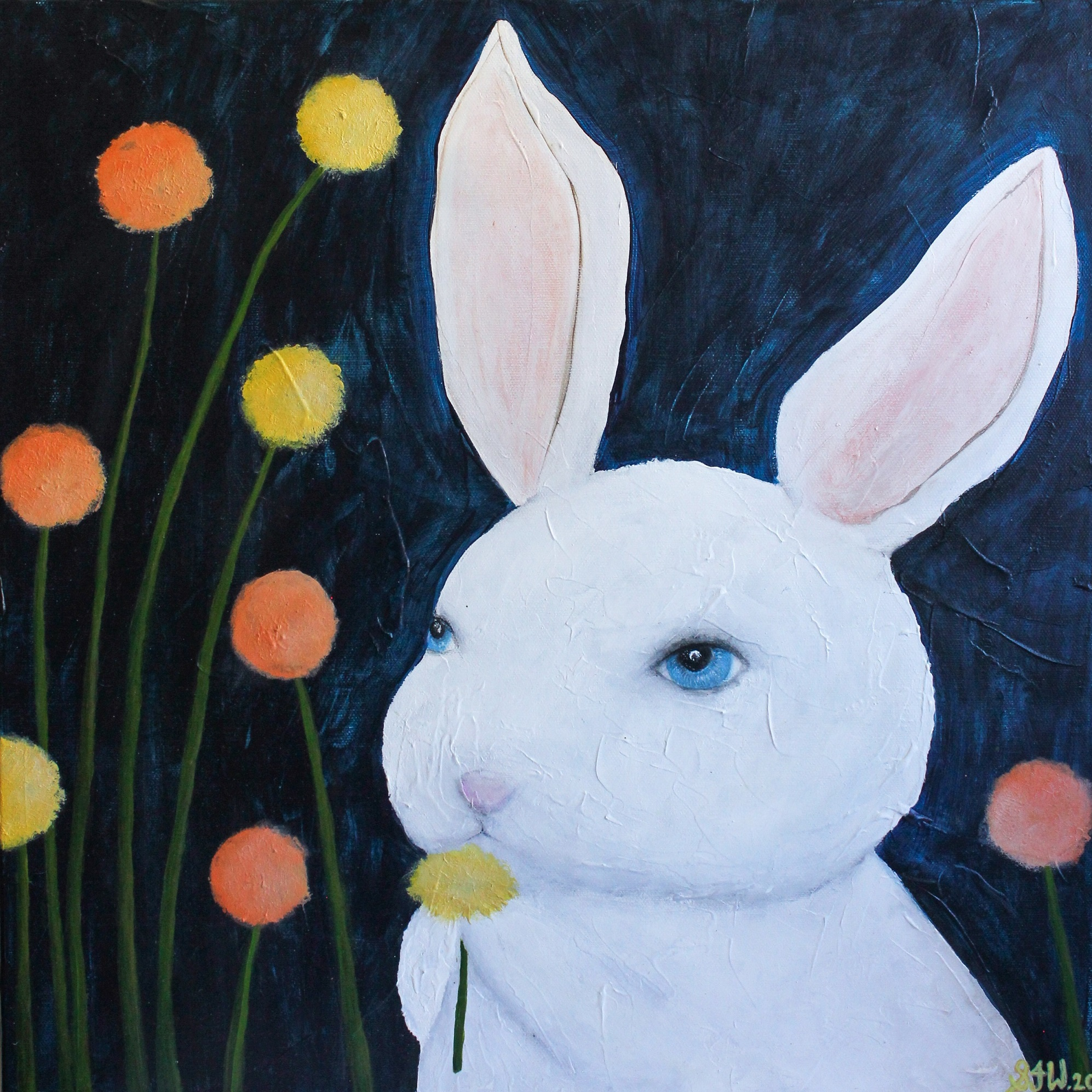 Bunny Painting Best Small