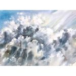 Mystery Clouds – Original watercolour painting