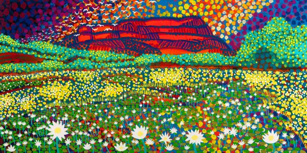 Luke Mallie Aboriginal Art This Land Of Ours 600x300 (1)