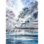 Mystery Sky – Original watercolour painting