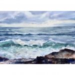 Waves – Original watercolour painting