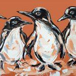 Sandy Feet Penguin Parade