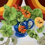70's Bright Double Pop and the Nasturtiums