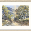 A Country Road In Oyster Frame