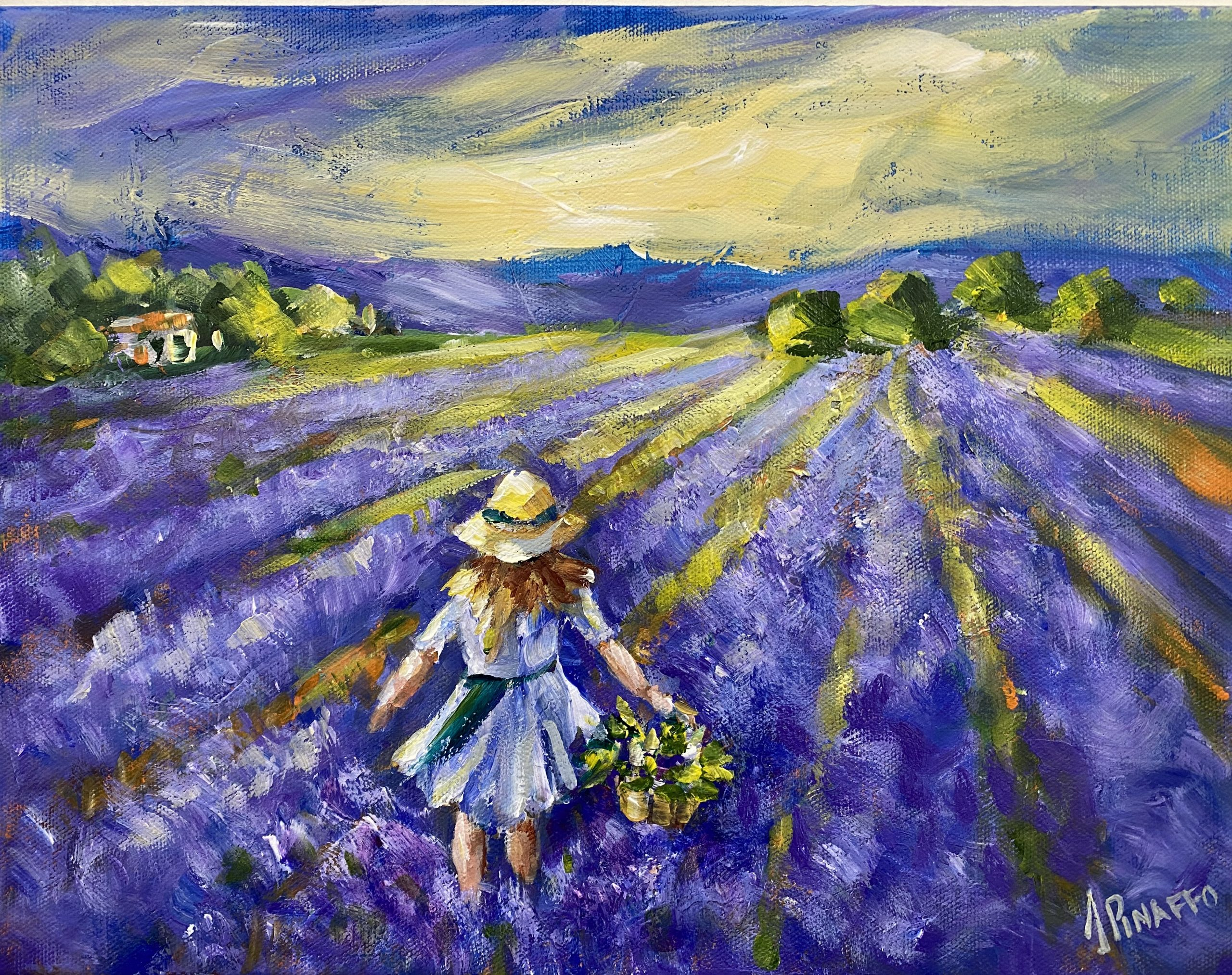 At The Lavender Farm 1